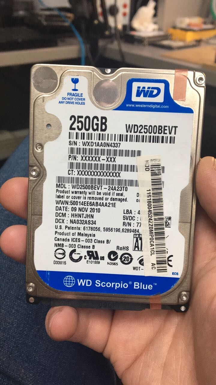 Диск WD blue 250gb